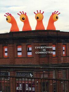 Manchester monster invasion